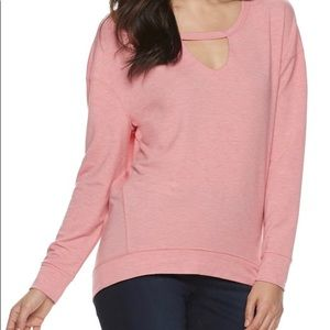 Juicy Couture cut out sweatshirt.